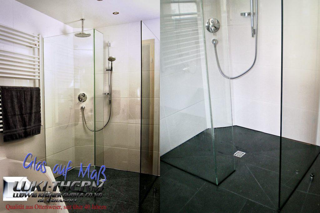 lukitherm glashandel glas nach mass glasdusche nach mass ludwig kistner gmbh ottersweier luki. Black Bedroom Furniture Sets. Home Design Ideas